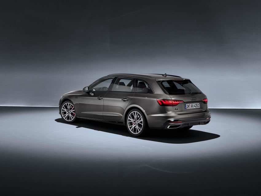 B9 Audi A4 gets a second facelift – revised styling and equipment list; new 12-volt mild hybrid engines Image #959640
