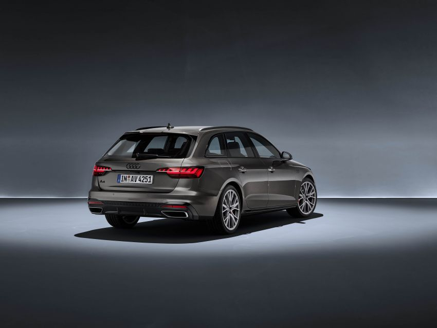 B9 Audi A4 gets a second facelift – revised styling and equipment list; new 12-volt mild hybrid engines Image #959641