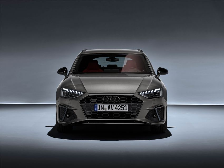 B9 Audi A4 gets a second facelift – revised styling and equipment list; new 12-volt mild hybrid engines Image #959642