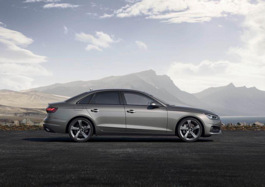 B9 Audi A4 gets a second facelift – revised styling and equipment list; new 12-volt mild hybrid engines Image #959622