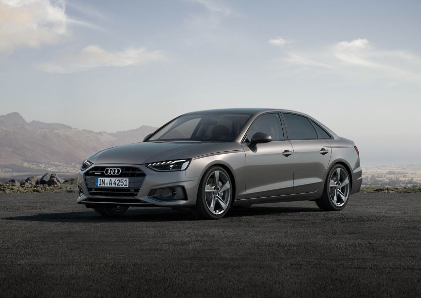 B9 Audi A4 gets a second facelift – revised styling and equipment list; new 12-volt mild hybrid engines Image #959624