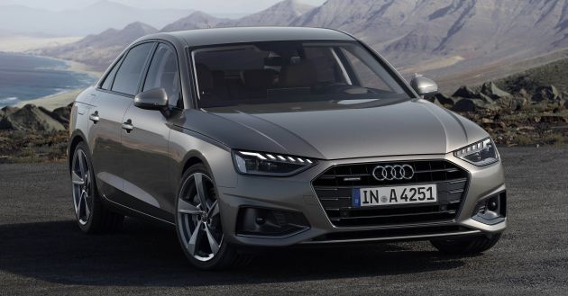 Audi A4 B9 >> B9 Audi A4 Gets A Second Facelift Revised Styling And