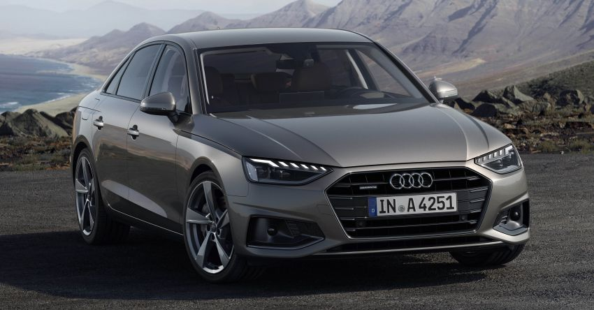 B9 Audi A4 gets a second facelift – revised styling and equipment list; new 12-volt mild hybrid engines Image #959626