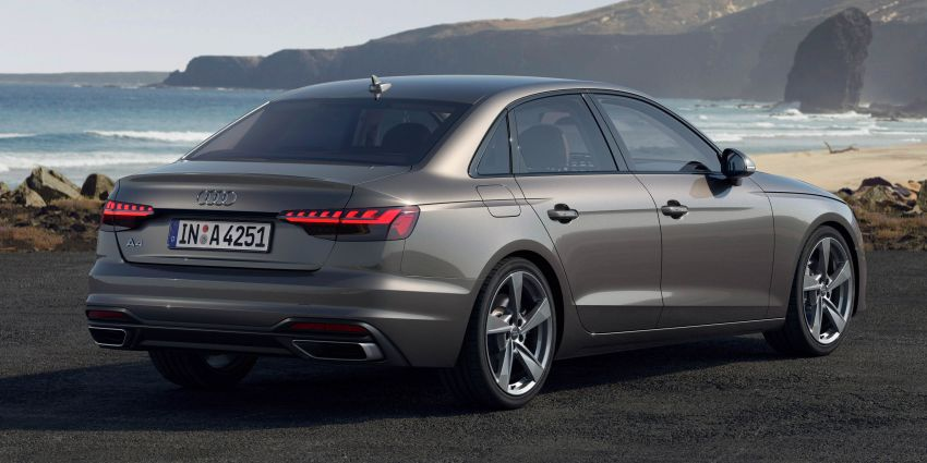 B9 Audi A4 gets a second facelift – revised styling and equipment list; new 12-volt mild hybrid engines Image #959629