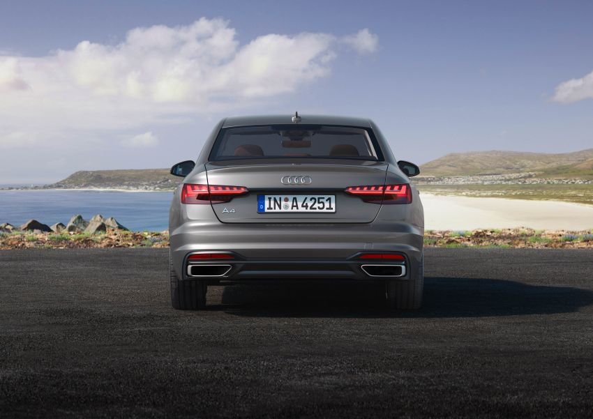 B9 Audi A4 gets a second facelift – revised styling and equipment list; new 12-volt mild hybrid engines Image #959630