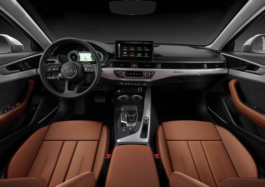 B9 Audi A4 gets a second facelift – revised styling and equipment list; new 12-volt mild hybrid engines Image #959631