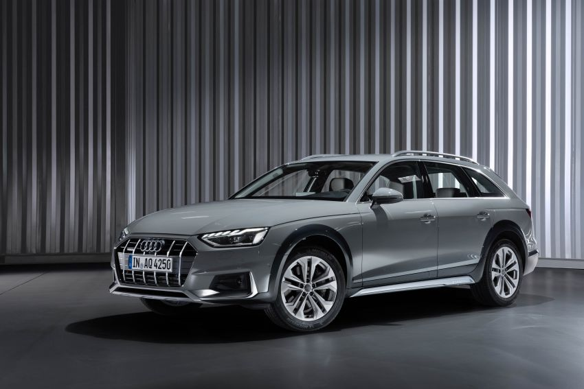 B9 Audi A4 gets a second facelift – revised styling and equipment list; new 12-volt mild hybrid engines Image #959646