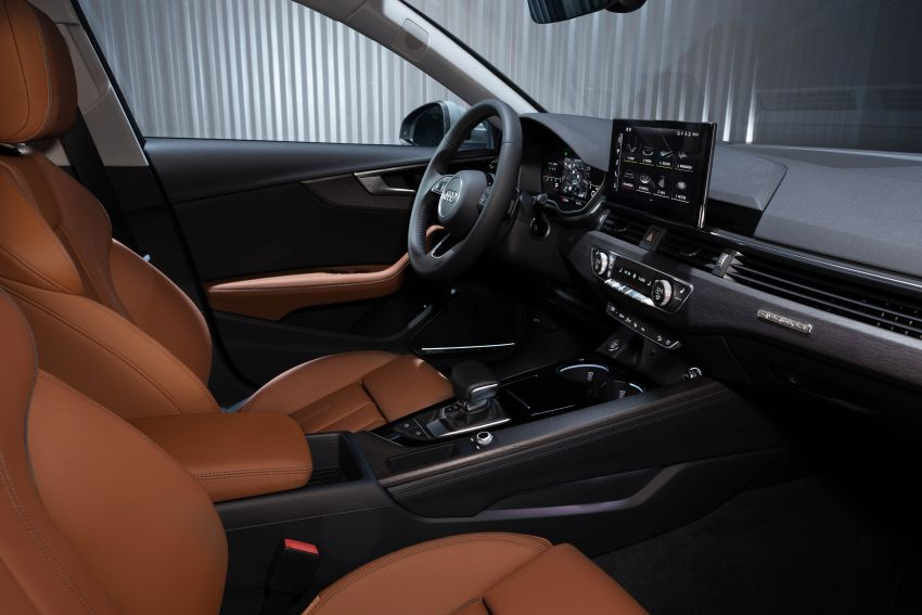 B9 Audi A4 gets a second facelift – revised styling and equipment list; new 12-volt mild hybrid engines Image #959648