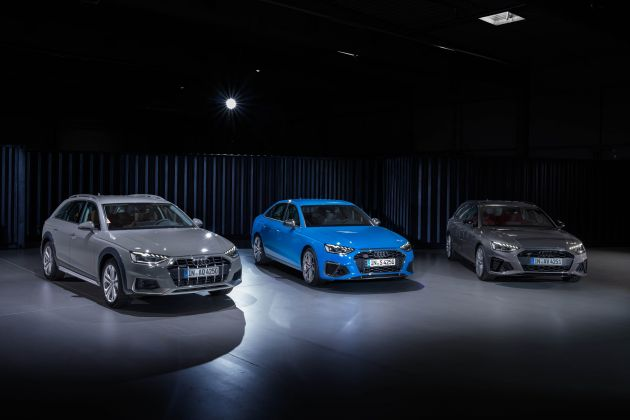 B9 Audi A4 gets a second facelift - revised styling and