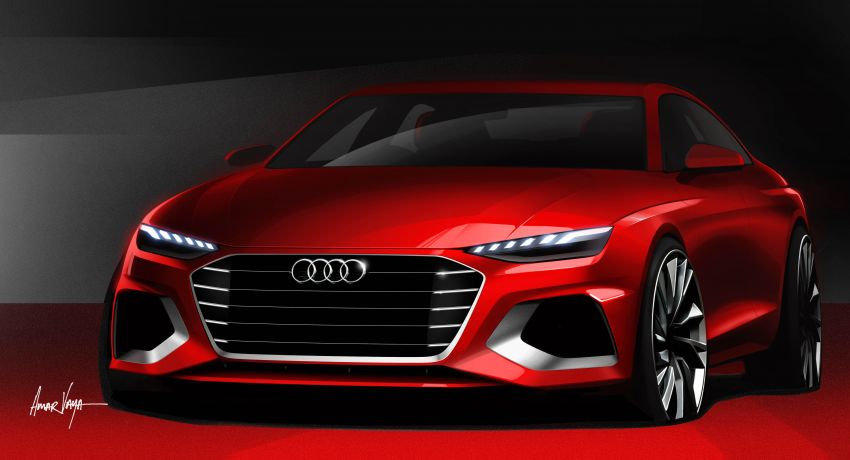 B9 Audi A4 gets a second facelift – revised styling and equipment list; new 12-volt mild hybrid engines Image #959664