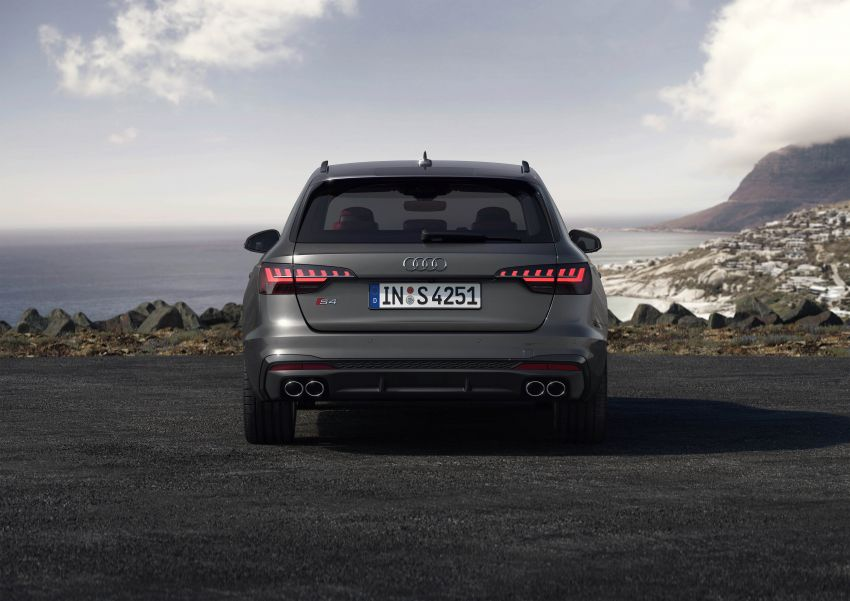B9 Audi A4 gets a second facelift – revised styling and equipment list; new 12-volt mild hybrid engines Image #959656