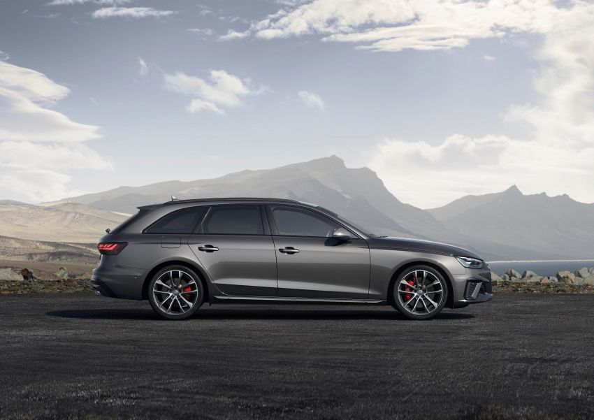 B9 Audi A4 gets a second facelift – revised styling and equipment list; new 12-volt mild hybrid engines Image #959657