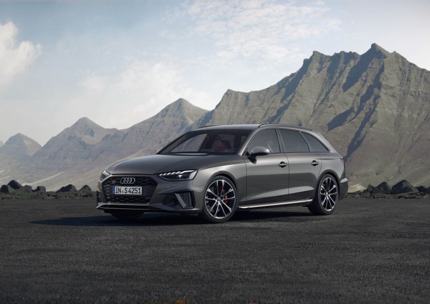 B9 Audi A4 gets a second facelift – revised styling and equipment list; new 12-volt mild hybrid engines Image #959658