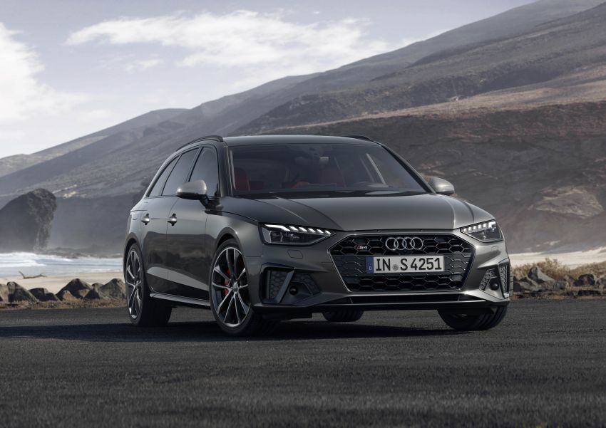 B9 Audi A4 gets a second facelift – revised styling and equipment list; new 12-volt mild hybrid engines Image #959660