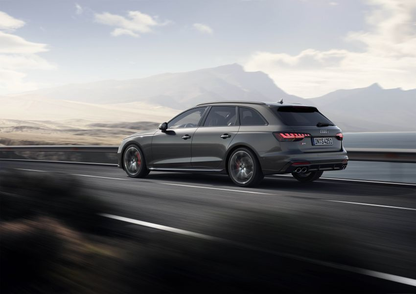 B9 Audi A4 gets a second facelift – revised styling and equipment list; new 12-volt mild hybrid engines Image #959661
