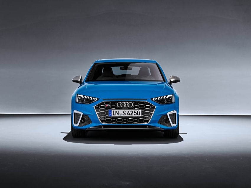 B9 Audi A4 gets a second facelift – revised styling and equipment list; new 12-volt mild hybrid engines Image #959649