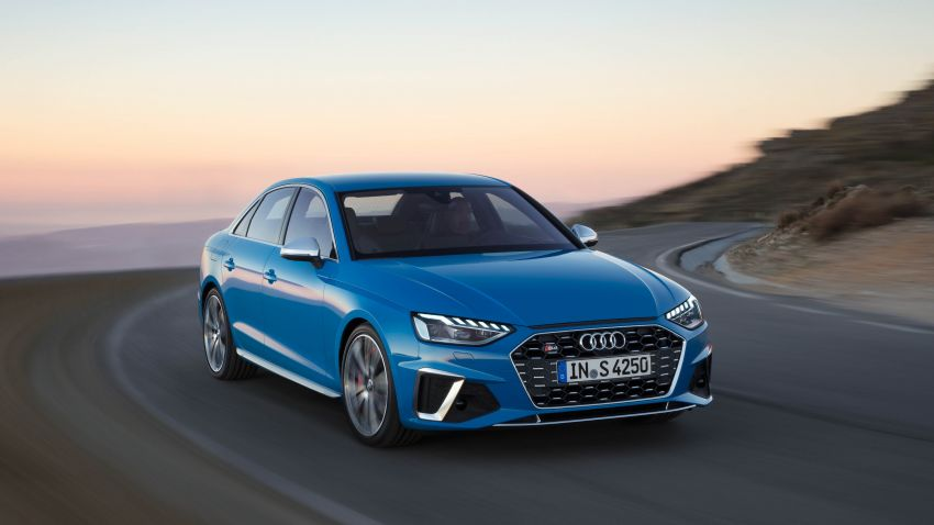B9 Audi A4 gets a second facelift – revised styling and equipment list; new 12-volt mild hybrid engines Image #959652