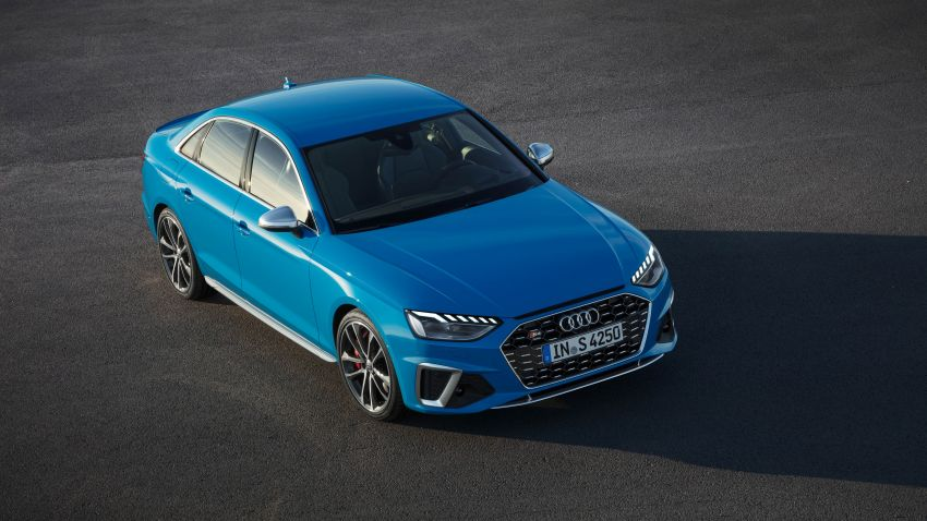 B9 Audi A4 gets a second facelift – revised styling and equipment list; new 12-volt mild hybrid engines Image #959653