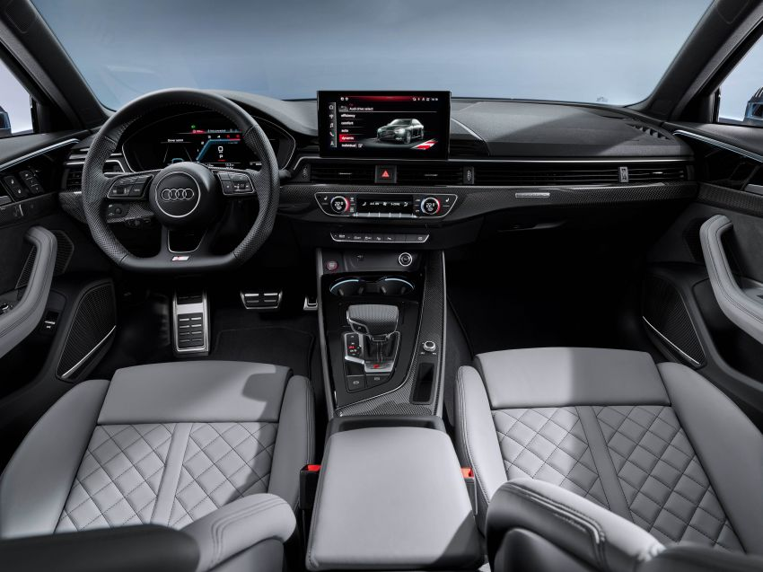 B9 Audi A4 gets a second facelift – revised styling and equipment list; new 12-volt mild hybrid engines Image #959654