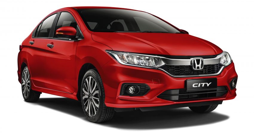 Honda Malaysia sold 28,000 cars during Jan-April 2019 period – City, CR-V and Jazz gain Passion Red Pearl Image #958251