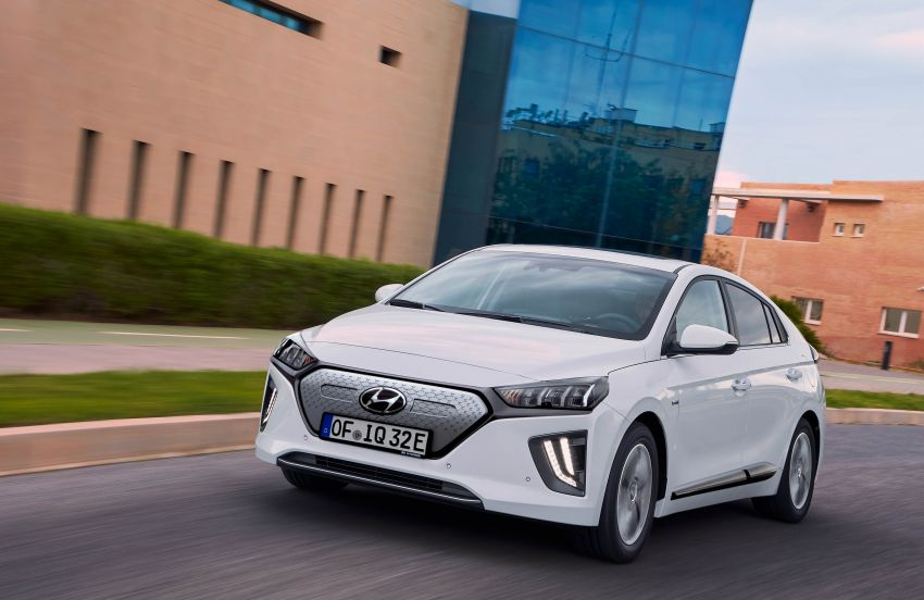 2019 Hyundai Ioniq facelift gets detailed – styling and equipment updates; EV version gains larger battery Image #956827