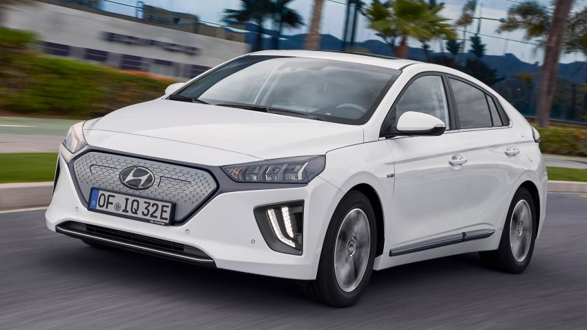 2019 Hyundai Ioniq facelift gets detailed – styling and equipment updates; EV version gains larger battery Image #956814