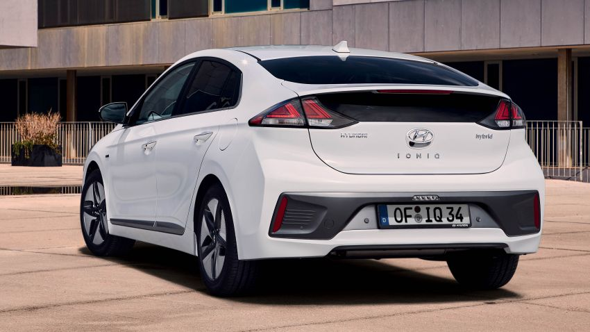 2019 Hyundai Ioniq facelift gets detailed – styling and equipment updates; EV version gains larger battery Image #956727