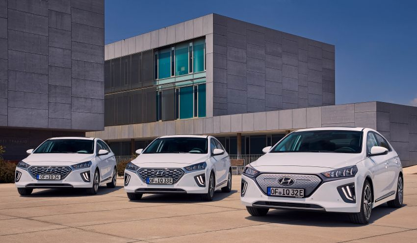 2019 Hyundai Ioniq facelift gets detailed – styling and equipment updates; EV version gains larger battery Image #956857