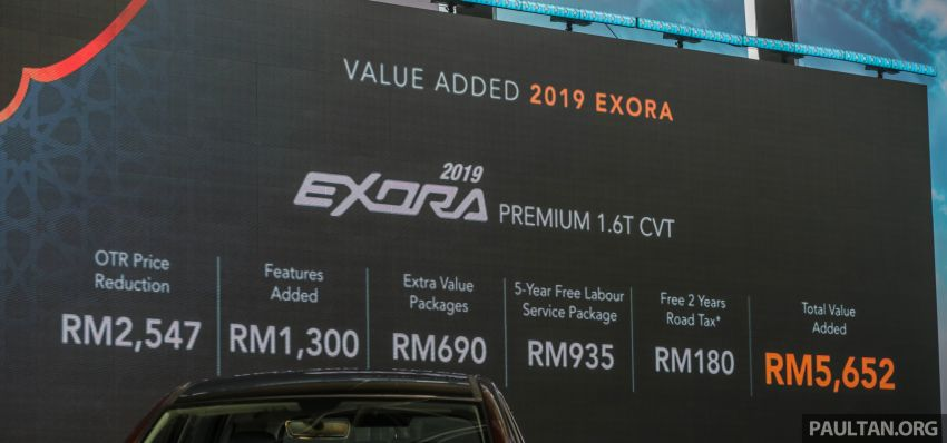 2019 Proton Exora RC launched – MPV updated with 'Hi, Proton', new kit, lowered price from RM59,800 Image #964395