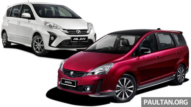 2019 Proton Exora Rc Vs Perodua Alza We Compare The Service Costs