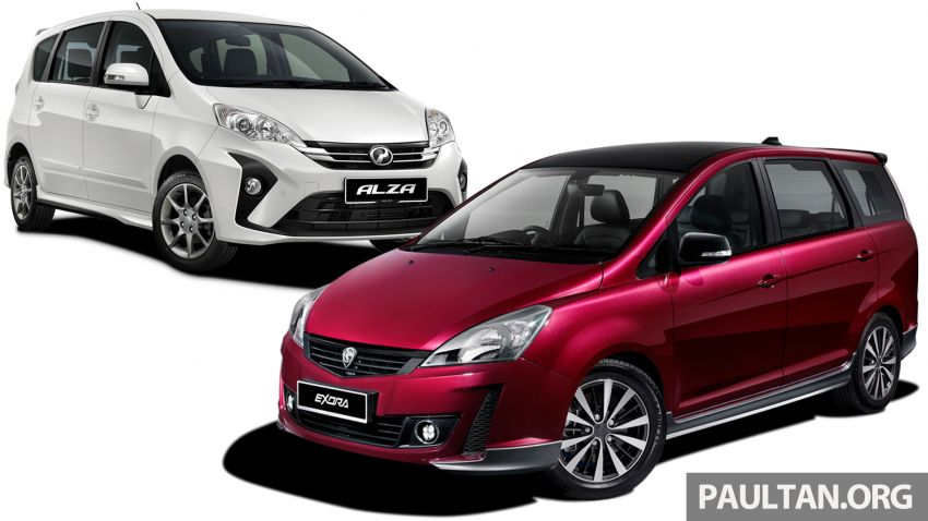 2019 Proton Exora RC vs Perodua Alza: we compare the service costs of both over five years/100,000 km Image #966944