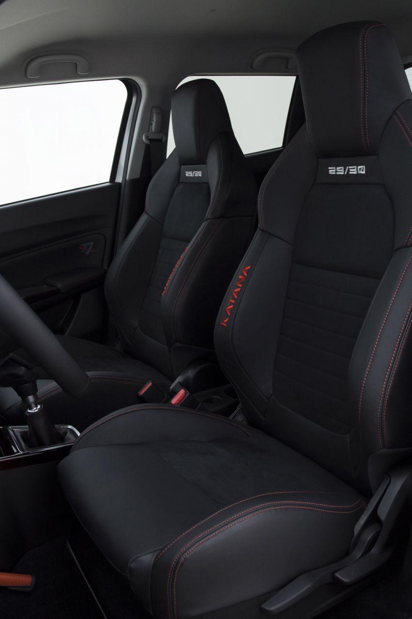 Suzuki Swift Sport Katana debuts – limited to 30 units Image #957481