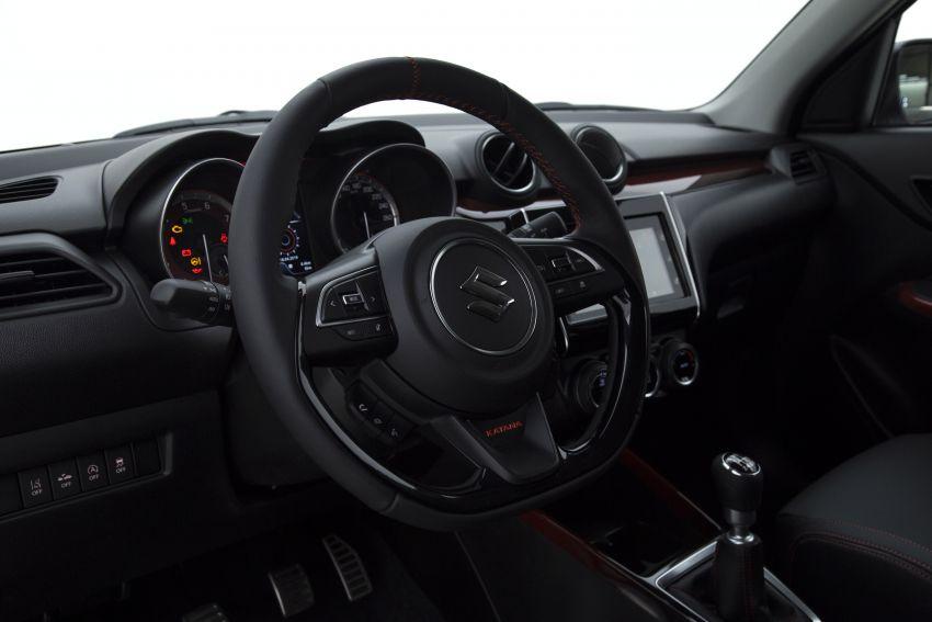 Suzuki Swift Sport Katana debuts – limited to 30 units Image #957482