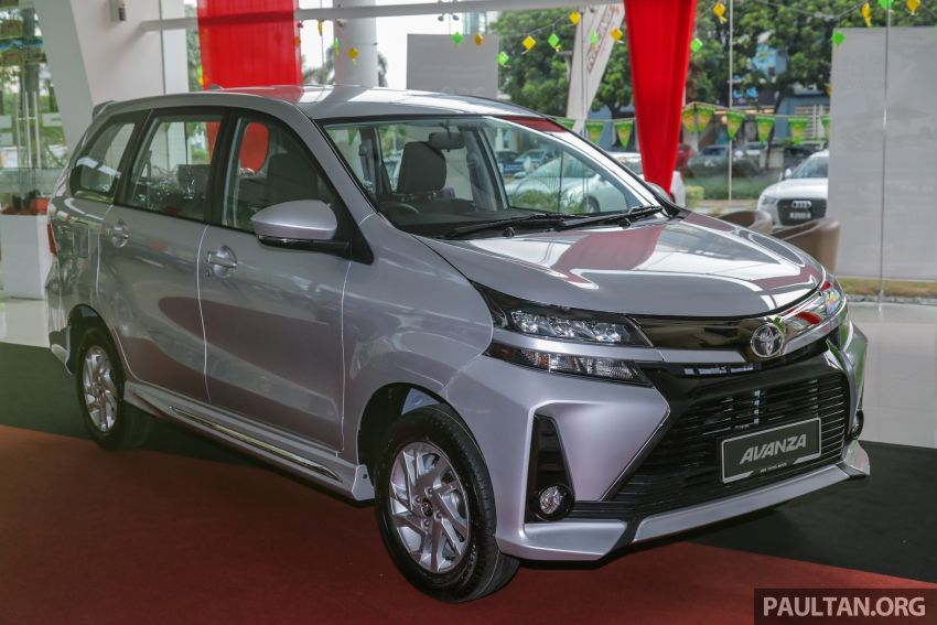 GALLERY: 2019 Toyota Avanza facelift on display at PJ showroom – 1.5S from RM83,888, 1.5E from RM80,888 Image #960035
