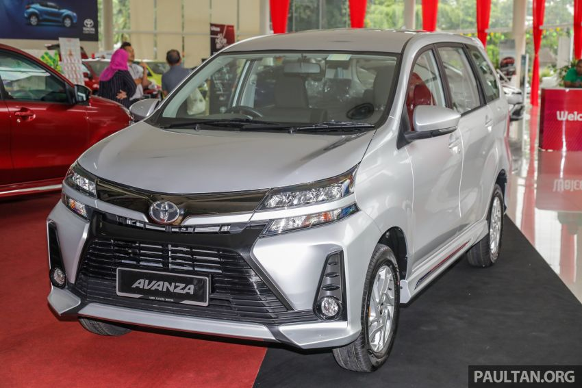 GALLERY: 2019 Toyota Avanza facelift on display at PJ showroom – 1.5S from RM83,888, 1.5E from RM80,888 Image #960036