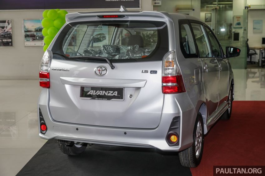 GALLERY: 2019 Toyota Avanza facelift on display at PJ showroom – 1.5S from RM83,888, 1.5E from RM80,888 Image #960037