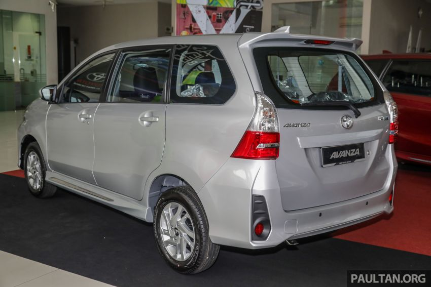 GALLERY: 2019 Toyota Avanza facelift on display at PJ showroom – 1.5S from RM83,888, 1.5E from RM80,888 Image #960038