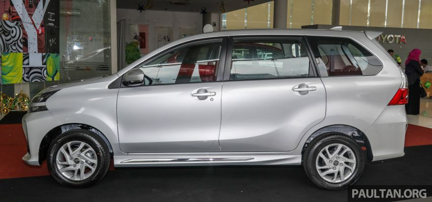 GALLERY: 2019 Toyota Avanza facelift on display at PJ showroom – 1.5S from RM83,888, 1.5E from RM80,888 Image #960039