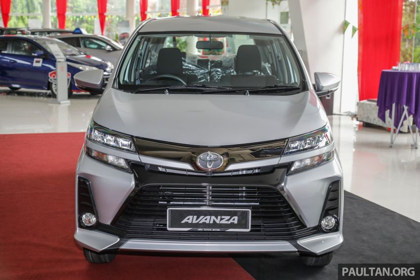 GALLERY: 2019 Toyota Avanza facelift on display at PJ showroom – 1.5S from RM83,888, 1.5E from RM80,888 Image #960040