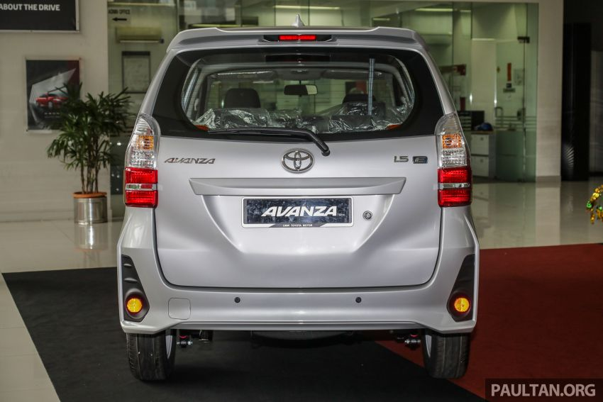 GALLERY: 2019 Toyota Avanza facelift on display at PJ showroom – 1.5S from RM83,888, 1.5E from RM80,888 Image #960041