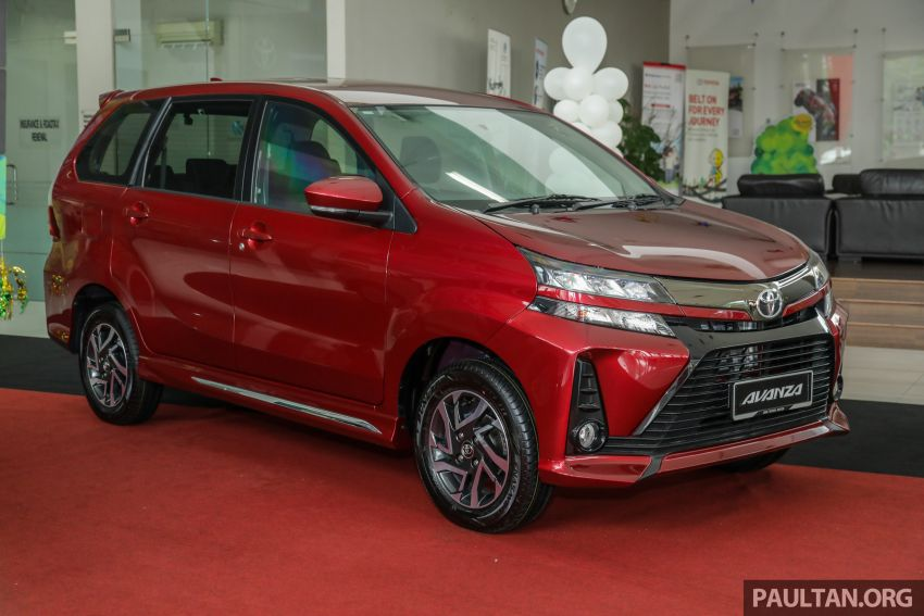GALLERY: 2019 Toyota Avanza facelift on display at PJ showroom – 1.5S from RM83,888, 1.5E from RM80,888 Image #959970