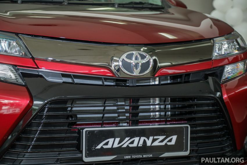 GALLERY: 2019 Toyota Avanza facelift on display at PJ showroom – 1.5S from RM83,888, 1.5E from RM80,888 Image #959980