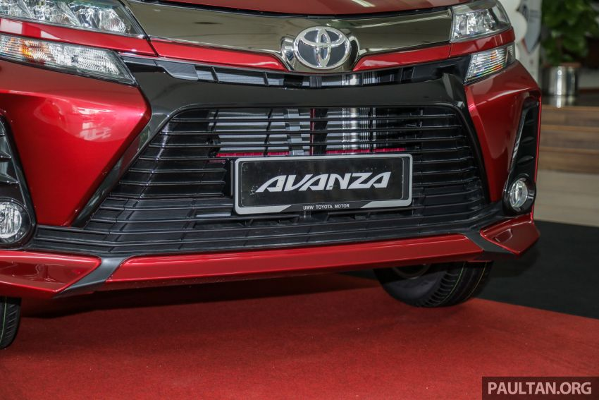 GALLERY: 2019 Toyota Avanza facelift on display at PJ showroom – 1.5S from RM83,888, 1.5E from RM80,888 Image #959981