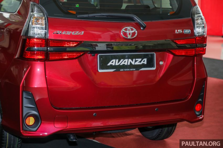 GALLERY: 2019 Toyota Avanza facelift on display at PJ showroom – 1.5S from RM83,888, 1.5E from RM80,888 Image #959988