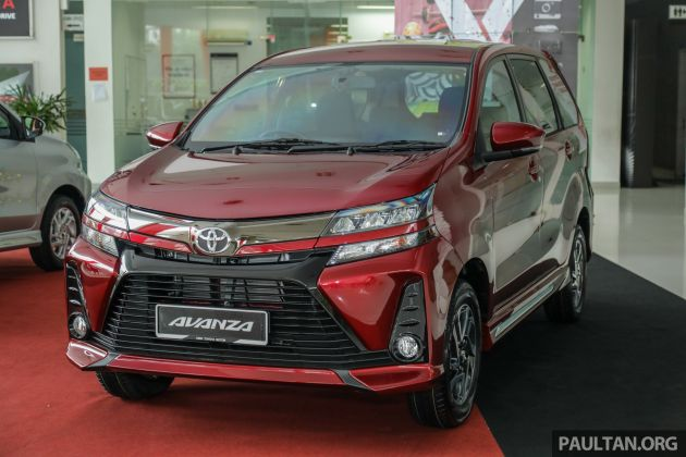 Gallery 2019 Toyota Avanza Facelift On Display At Pj Showroom 1 5