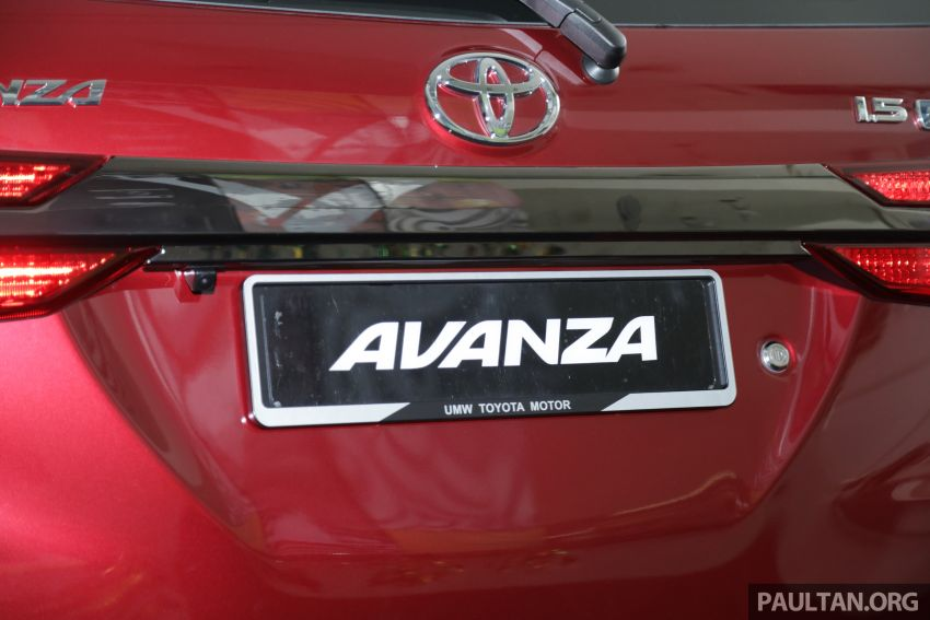 GALLERY: 2019 Toyota Avanza facelift on display at PJ showroom – 1.5S from RM83,888, 1.5E from RM80,888 Image #959991