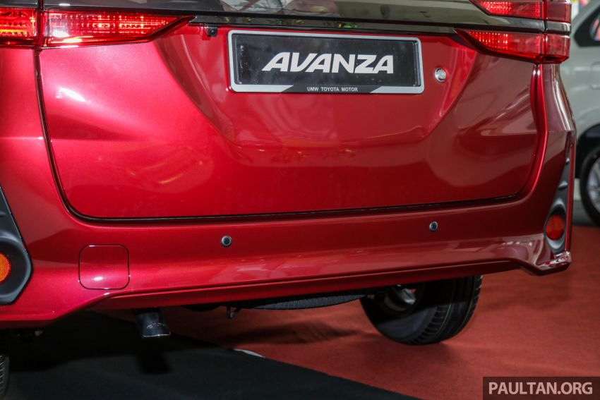 GALLERY: 2019 Toyota Avanza facelift on display at PJ showroom – 1.5S from RM83,888, 1.5E from RM80,888 Image #959992