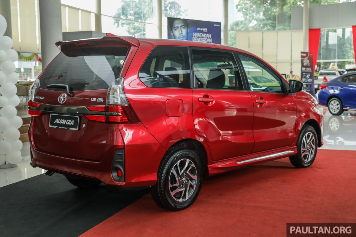 GALLERY: 2019 Toyota Avanza Facelift On Display At PJ