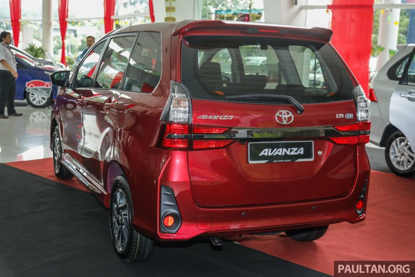 GALLERY: 2019 Toyota Avanza facelift on display at PJ showroom – 1.5S from RM83,888, 1.5E from RM80,888 Image #959973