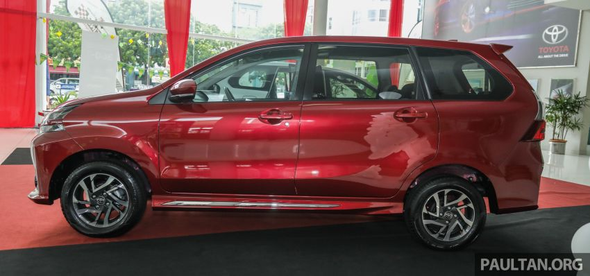 GALLERY: 2019 Toyota Avanza facelift on display at PJ showroom – 1.5S from RM83,888, 1.5E from RM80,888 Image #959974